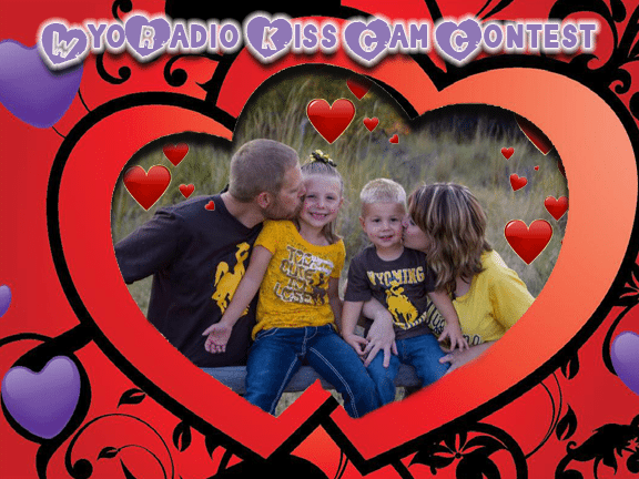 Jessica Wiekhorst Robidoux with George, Alyson and Vincent.